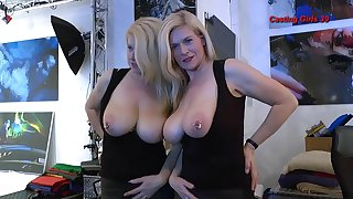 Mature porn slut interviews coupled with takes a load in the brush frowardness