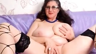 Big tits and pussy IntenseMature