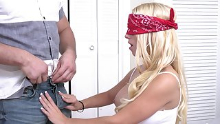 MILF gets shared by her stepson and his best buddy for a wild XXX home trio