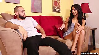 Gia Vendetti issues some highly taboo pre-date cock stroking