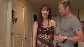 Mommy feels like going wild and dirty with the neighbor's cock