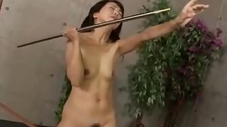 Japanese Gal With A For detail Bush Is Getting Her Gap Toyed Whi