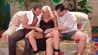 Threesome For The Elegant Swedish Blonde MILF To enjoy