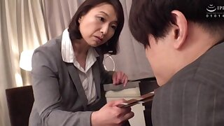 Horny wife Tokita Kozue moans while riding her hubby's dick