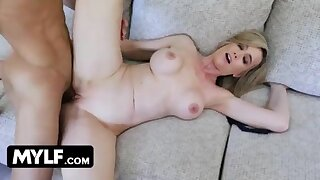 Gorgeous Milf Lilly James Cheats On Her Husband And Gets Young Studs Huge Load In Her Juicy Muff 14 min  720p