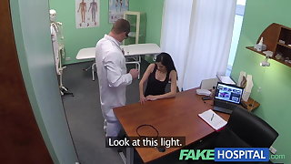 Enactment Hospital Squirting MILF wants breast implants