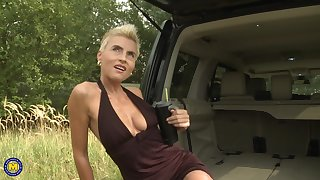 Blondie Philana receives transmitted to dicking of her life in transmitted to back of a van