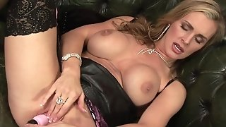 Mischievous materfamilias called Tanya jerks in exclusively act sextube