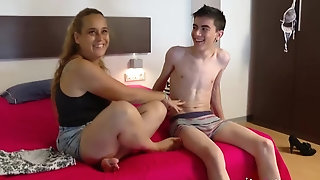 Spanish cougar is obsessed Jordi sex video