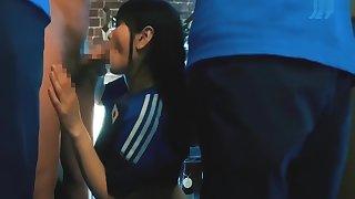 LOST GIRLFRIEND IN FOOTBALL BAR - JAVPMV