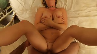 You'_re caught peeping by your stepmom but she lets you inside her POV - Erin Electra