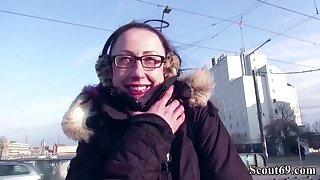 German Scout - Skinny mom Stella-Star Seduce to Bang