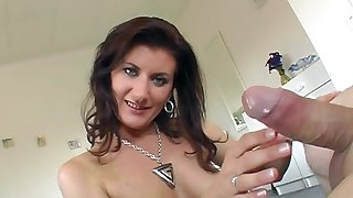 POV video of mature wife Susanne giving an amazing blowjob